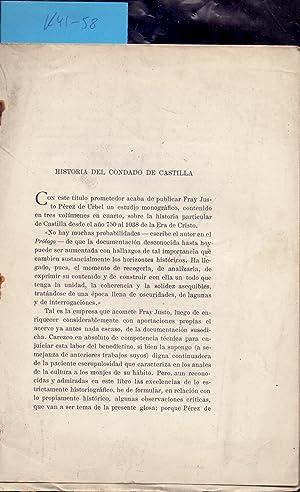 HISTORIA DEL CONDADO DE CASTILLA (EXTRAIDO ORIGINAL: Duque de Maura