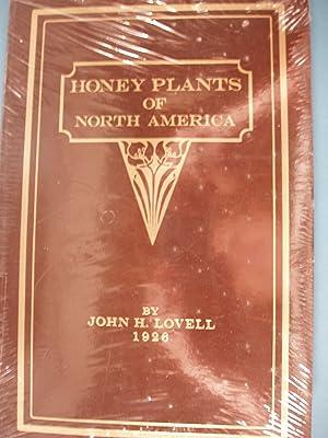Honey Plants of North America: Harvey B. Lovell