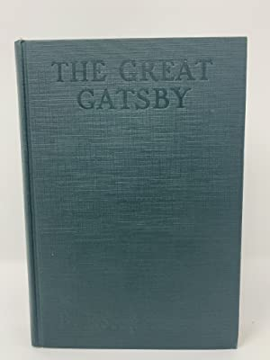 The Great Gatsby: F. Scott Fitzgerald