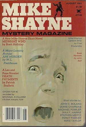 MIKE SHAYNE MYSTERY MAGAZINE: August, Aug. 1981: Mike Shayne Mystery