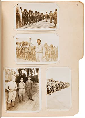 [COLLECTION OF PHOTOGRAPHS, DOCUMENTS, AND CLIPPINGS ASSEMBLED BY A MEMBER OF THE SEGREGATED 93rd...