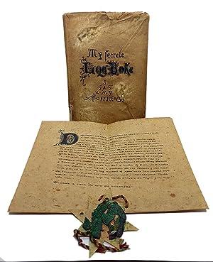 Seller image for A FINE BOOK OF COLOMBUS VOYAGE HOAX] My secrete log boke: S.A.S.X. MY XPO FERENS [Supples servus altissimi Salvatoris Xristi Mariae Josephi Xpoferens 'Christoferens']. for sale by Khalkedon Rare Books, IOBA