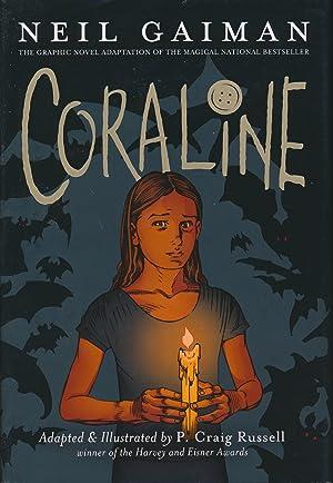 Coraline Graphic Novel SIGNED/inscribed: Neil Gaiman /