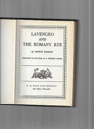 LAVENGRO AND THE ROMANY RYE ~ Designed: Borrow, George