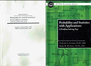 Probability and Statistics with Applications: A Problem: Asimov, Leonard and
