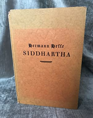 Siddhartha, True First Edition: Hermann Hesse