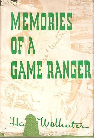 Memories of a Game Ranger: Harry Wolhuter