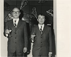 Original photograph of Gilbert and George, 1986