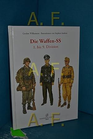 Die Waffen-SS, Teil: 1. bis 9. Division.: Williamson, Gordon und