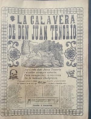 LA CALAVERA DE DON JUAN TENORIO: Posada, José Guadalupe