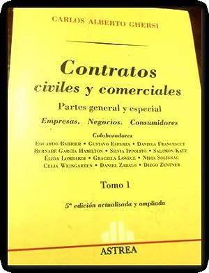contratos civiles y comerciales 1 y 2: Ghersi