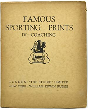 FAMOUS SPORTING PRINTS. IV. COACHING: George Kendall [Introduction]