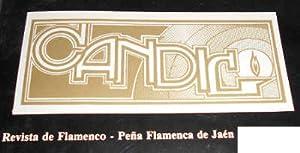 CANDIL. Revista de flamenco. Peña Flamenca de: PORRAS, Ramón -