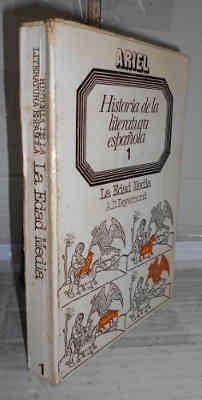 HISTORIA DE LA LITERATURA ESPAÑOLA. 1. Edad: DEYERMOND, A. D