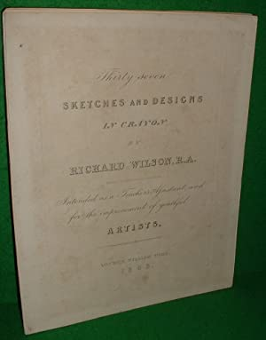 THIRTY SEVEN SKETCHES AND DESIGNS IN CRAYON , Intended as a Teacher's Assistant and For the Impro...