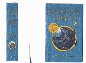 THREE VOLUMES in shrinkwrap: Hogwarts Library: A: Rowling, J K