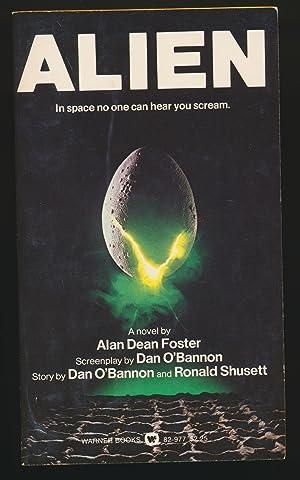 Alien SIGNED: Alan Dean Foster