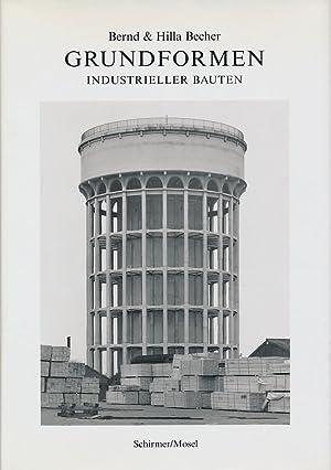 Bild des Verkäufers für Grundformen industrieller Bauten. Dieses Buch erscheint aus Anlaß der Verleihung des Hasselblad Foundation International Award 2004 an Bernd und Hilla Becher am 20.11.2004 in Göteburg. zum Verkauf von Antiquariat Lenzen