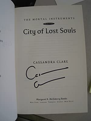 City of Lost Souls: Cassandra Clare