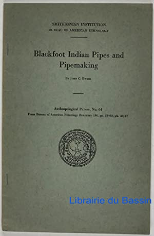 Blackfoot Indian Pipes and Pipemaking
