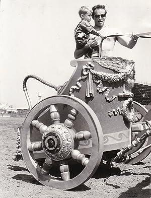 Ben-Hur (Original photograph of Charlton Heston and: Wyler, William (director);
