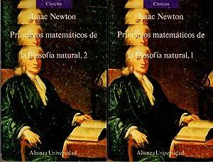 PRINCIPIOS MATEMATICOS DE LA FILOSOFIA NATURAL, 1: NEWTON, Isaac.