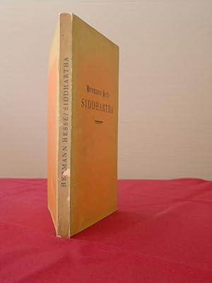 Siddhartha. Eine indische Dichtung. 1.-6. Auflage.: Hesse, Hermann.