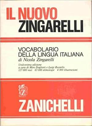 Il nuovo Zingarelli. Vocabolario della lingua italiana.: Zingarelli,Nicola.