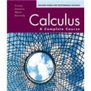 Calculus: A Complete Course: Finney & Demana