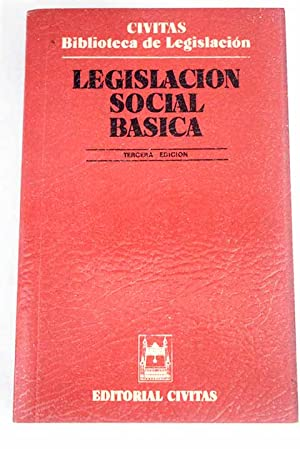 Legislación social básica: VV.AA.