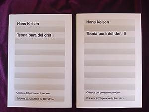Teoria pura del dret (2 vol.): Hans Kelsen