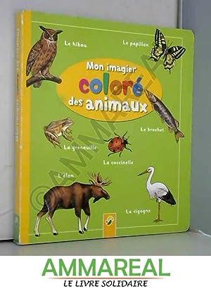 Mon imagier coloré des animaux: Pestalozzi