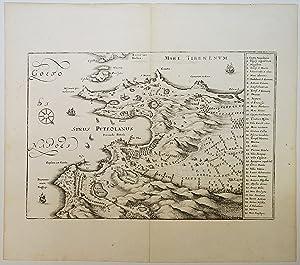 Golfo Di Napoli. Map]: Merian, Matthaus