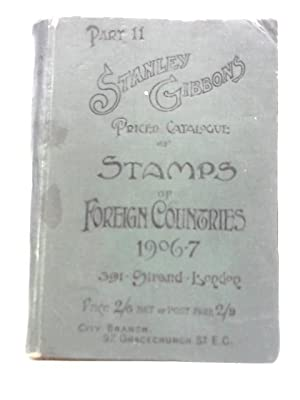 Stanley Gibbons Priced Catalogue of Stamps of: Stanley Gibbons