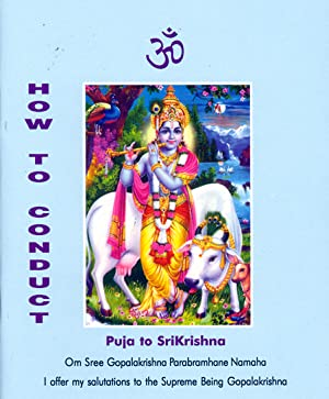 Seller image for How to Conduct Puja to SriKrishna for sale by PERIPLUS LINE LLC