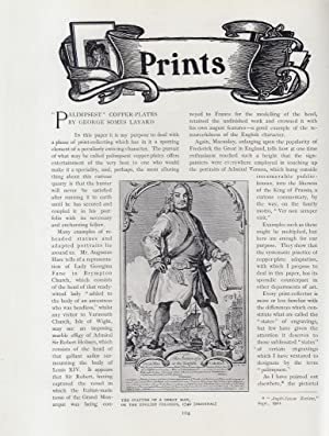 Palimpsest Copper-Plates. An original article from The: Layard, George Somes