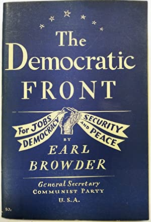 The Democratic Front: For Jobs, Security, Democracy and Peace