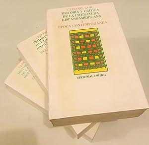 Historia y crítica de la literatura hispanoamericana: Cedomil Goic