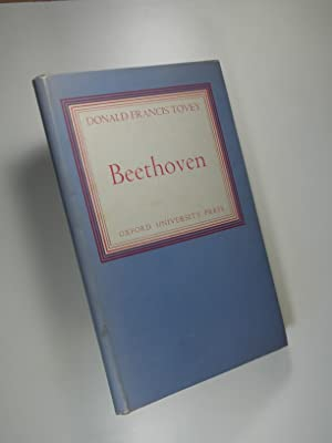 Beethoven, with an Editorial Preface by Hubert: TOVEY, Donald Francis