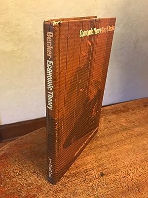 Economic Theory: Becker, Gary S.