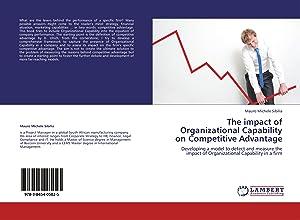 The impact of Organizational Capability on Competitive: Sibilia, Mauro Michele