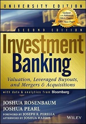 Investment Banking: Pearl, Joshua|Rosenbaum, Joshua