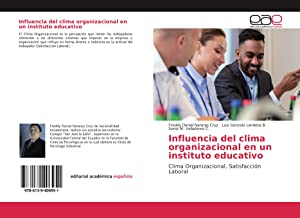 Seller image for Influencia del clima organizacional en un instituto educativo for sale by moluna