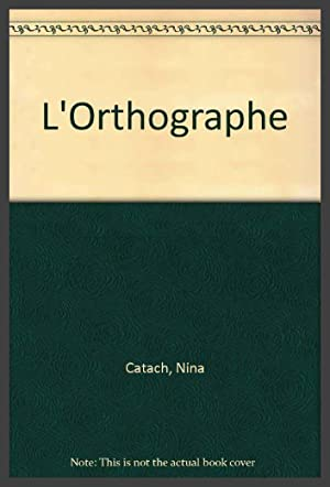 L'Orthographe