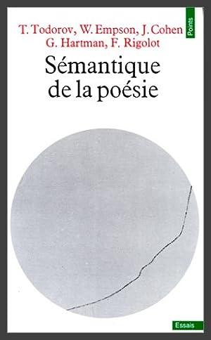 Sémantique de la poésie