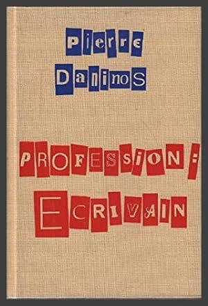 Profession , écrivain
