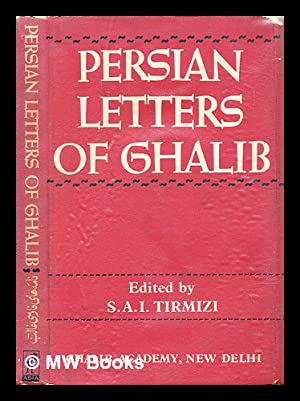 Seller image for Persian letters of Ghalib for sale by MW Books