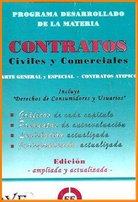 Libro guia estudio contratos civiles y comerciales