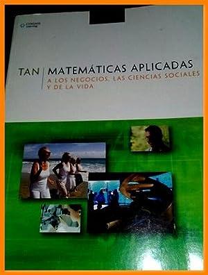 Libro matematica aplicada negocios ciencias sociales y: Soo T. Tan