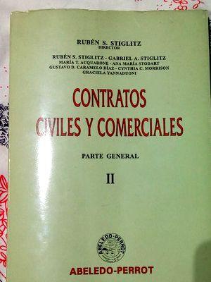Libro contratos civiles y comerciales parte general: STIGLITZ